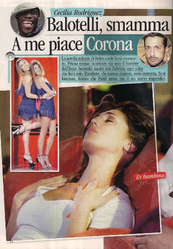 Cecilia Rodriguez, foto di Novella 2000 di 27 maggio 2010