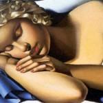 Tamara De Lempicka la dormeuse