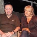 Eraldo  Baldini e Marzia Mazzavillani a Marina Romea