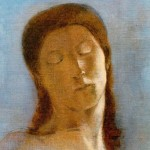 Closed eyes di Odillon Redon