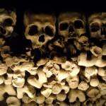 Il Cimitero delle Fontanelle di Napoli -Particolare-