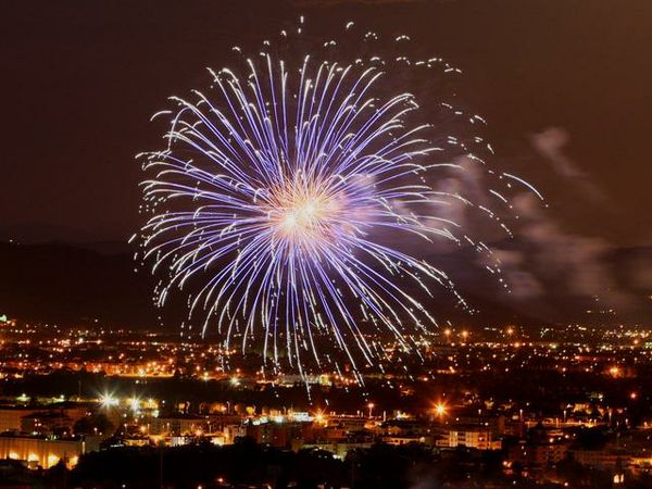fuoco d'artificio