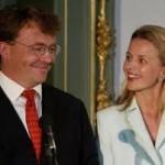 Il principe Johan Friso e la moglie Mabel