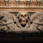 Particolare dell'altare della Chiesa del Purgatorio -Napoli-