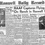 Roswell Daily Record 9 luglio 1947