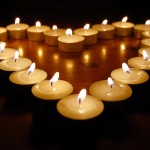 candele a cuore