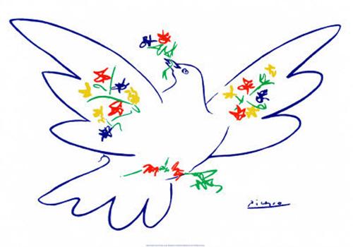 Pasqua colomba della pace di Picasso