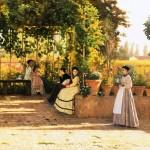 Silvestro Lega - Il pergolato1868